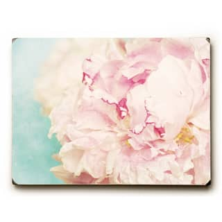 Delicate Peony - Wood Wall Decor by OBC