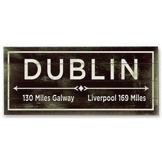 Dublin - Wood Wall Decor by FLAVIA