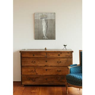 White Whale - Wall Decor by Terry Fan - Planked Wood Wall Decor