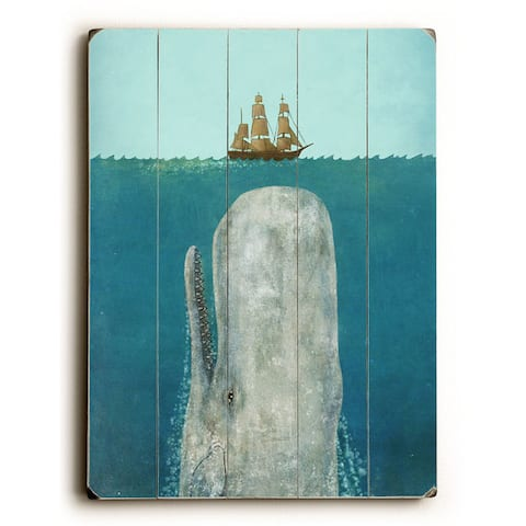 The Whale - Wall Decor by Terry Fan