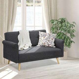 Furinno Retro Vintage Loveseat Sofa