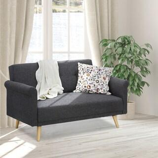 Furinno Retro Vintage Loveseat Sofa