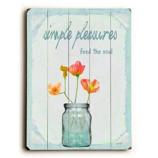 Simple Pleasures - Wall Decor by Lisa Weedn