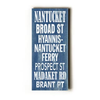 Nantucket - Wood Wall Decor by Cory Steffen