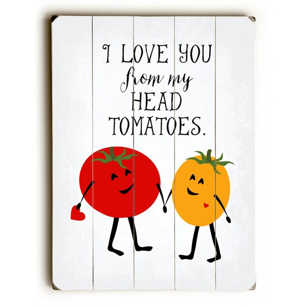 From My Head ToMaToes - Wall Decor by Ginger Oliphant