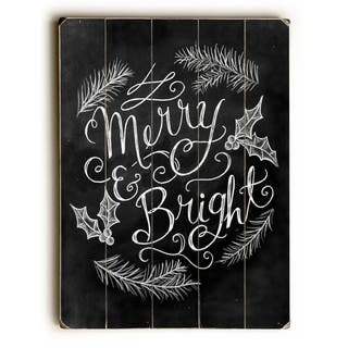 Merry & Bright - Wall Decor by Robin Frost