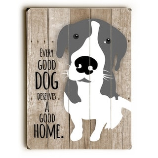 Every Good Dog - Wall Decor by Ginger Oliphant