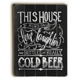 Cold Beer - Wall Decor by Robin Frost