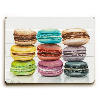 Macarons - Wall Decor by Jennifer Redstreake