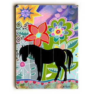 Floral Horse - Wall Decor by Beth Nadler