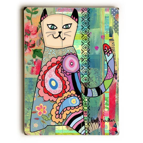 Colorful Cat - Wall Decor by Beth Nadler