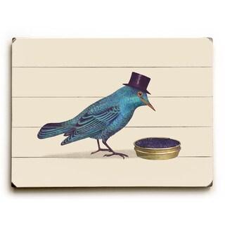 Gentle Birds Prefer Caviar - Wall Decor by Terry Fan