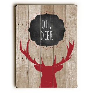 Oh Deer - Wall Decor by Ginger Oliphant