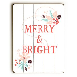 Merry & Bright - Wall Decor by Rebecca Peragine