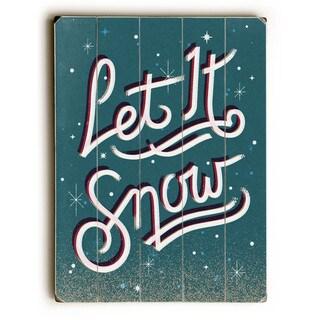 Let it Snow - Wall Decor by Rebecca Peragine