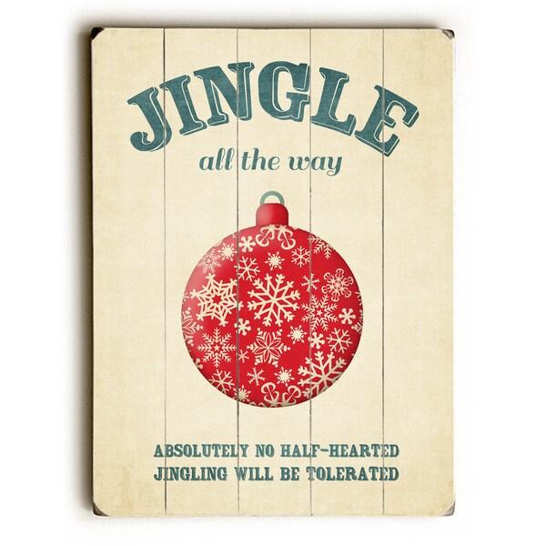 Jingle all the way - Wall Decor by Cheryl Overton