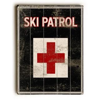 Ski Patrol - Wall Decor by Kate Ward Thacker