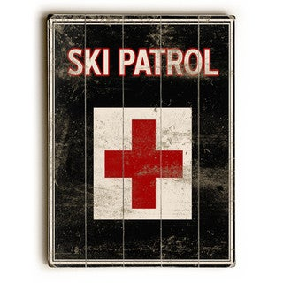 Ski Patrol - Wall Decor by Kate Ward Thacker