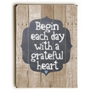 Grateful Heart - Wall Decor by Ginger Oliphant