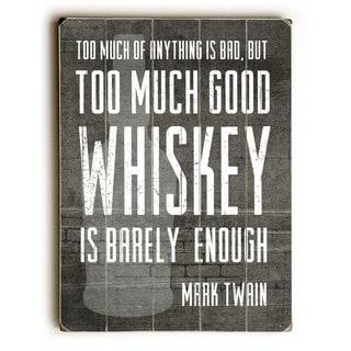 Good Whiskey - Wall Decor by Cheryl Overton