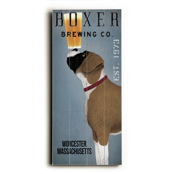 Shop Boxer Brewing Company - Wood Wall Decor by Union Pacific - Free ...
