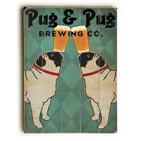 Pug and Pug Brewing - Wall Decor by Ryan Fowler