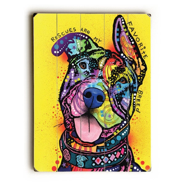 My Favorite Breed - Wall Decor by ArtLicensing - Dean Russo - Multi-Color