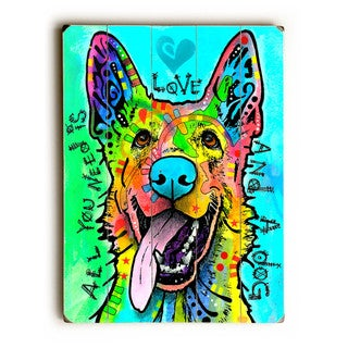 Love and a Dog - Wall Decor by ArtLicensing - Dean Russo - Multi-Color