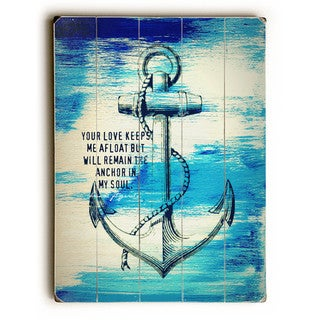 Your Love Keeps Me Afloat - Wall Decor by Brandi Fitzgerald