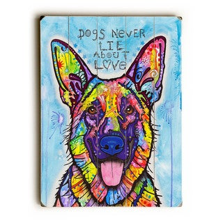 Dogs Never Lie - Wall Decor by ArtLicensing - Dean Russo