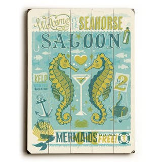 Seahorse Saloon - Wall Decor by Anderson Design Group - Multi-Color