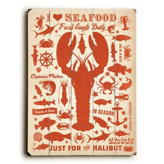 I Love Seafood - Wall Decor by Anderson Design Group