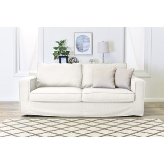 Serta Colton Fabric 85-inch Sofa with Slipcover