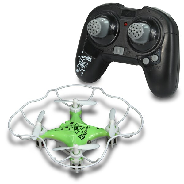 NKOK Air Banditz 2.4GHz Atom-X Quadcopter Remote Control Toy - Colors Vary
