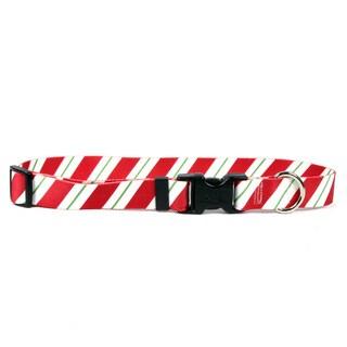 Red Haute Horse Peppermint Stick Horse Collar