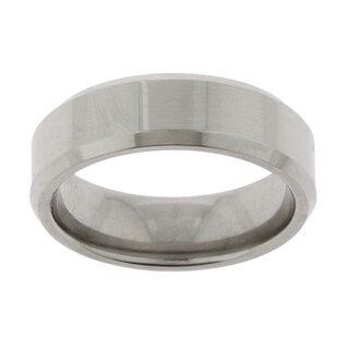 Men's Titanium Polished Band (7 mm) (More options available)