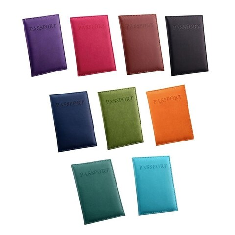 Colorful Passport Protector