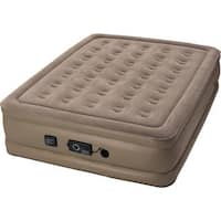 Insta-bed Raised 18-inch Full Air Mattress with Never Flat Pump