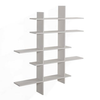 Danya B. Five Level Asymmetric Shelf - White