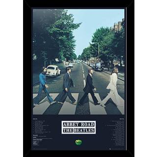 The Beatles Abbey Road Tracks Poster With Choice of Frame (24x36)