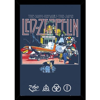 Led Zeppelin - Remains Poster With Choice of Frame (24x36)