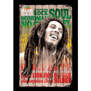 Bob Marley Laugh Poster With Choice of Frame (24x36)