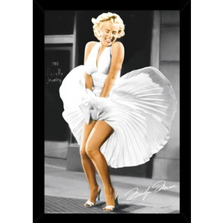 Marilyn Monroe Seven Year Itch Poster With Choice of Frame (24x36)