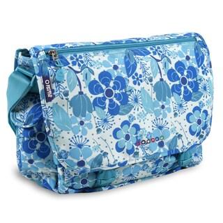 J World New York Terry Blue Vine Messenger Bag