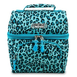 J World New York Corey Mint Leopard Lunch Bag
