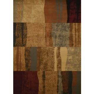 Harmony Rayan Brown Area Rug (5'3 x 7'2)