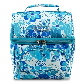 J World New York Corey Blue Vine Lunch Bag