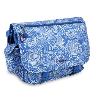 J World New York Terry Wave Messenger Bag