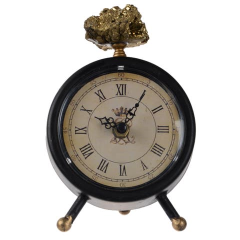 """5x2.5x6.5"""" Lavonia Table Clock,Medium"""