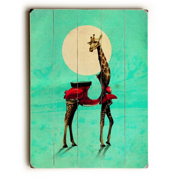 Giraffe - Multi Wall Decor by Ali Gulec